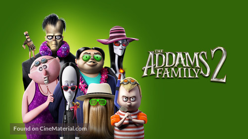 The Addams Family 2 - Movie Cover