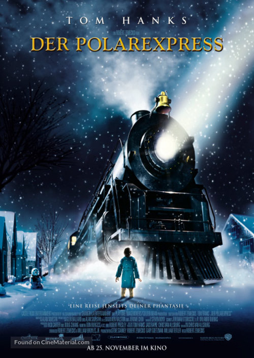 The Polar Express - German Movie Poster