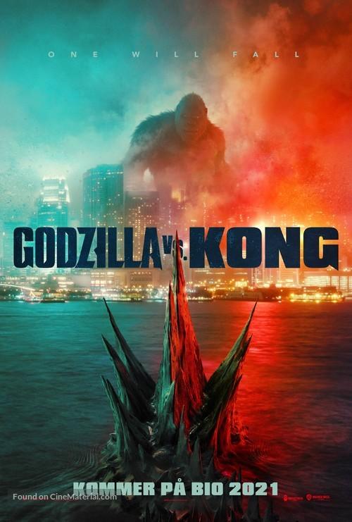 Godzilla vs. Kong - Swedish Movie Poster