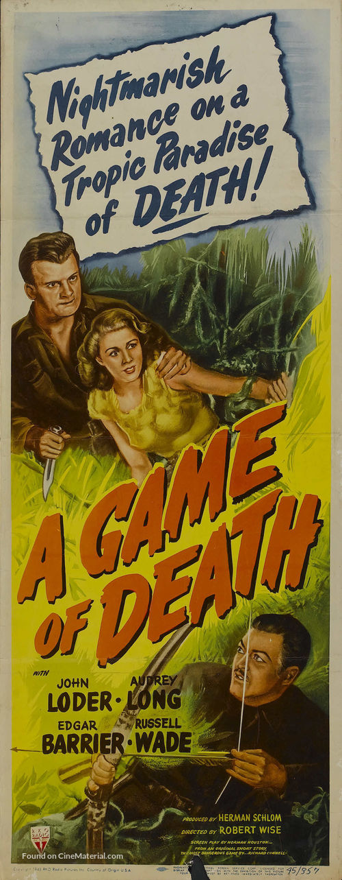 A Game of Death - Movie Poster