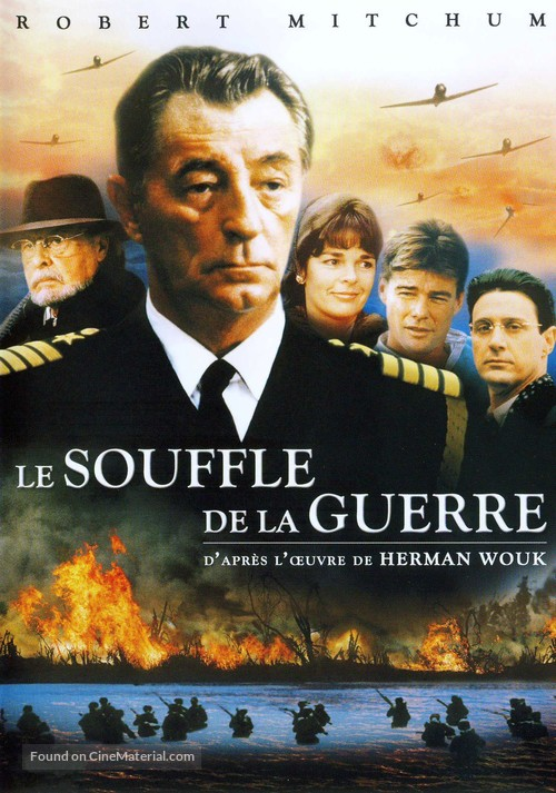 """""""The Winds of War"""" - French DVD movie cover"""