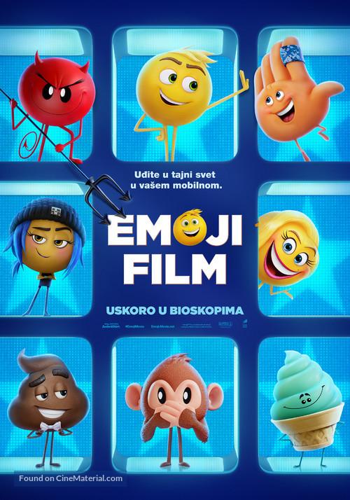 The Emoji Movie - Serbian Movie Poster