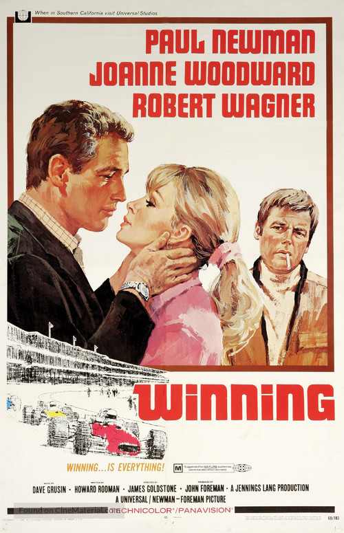 Winning - Movie Poster