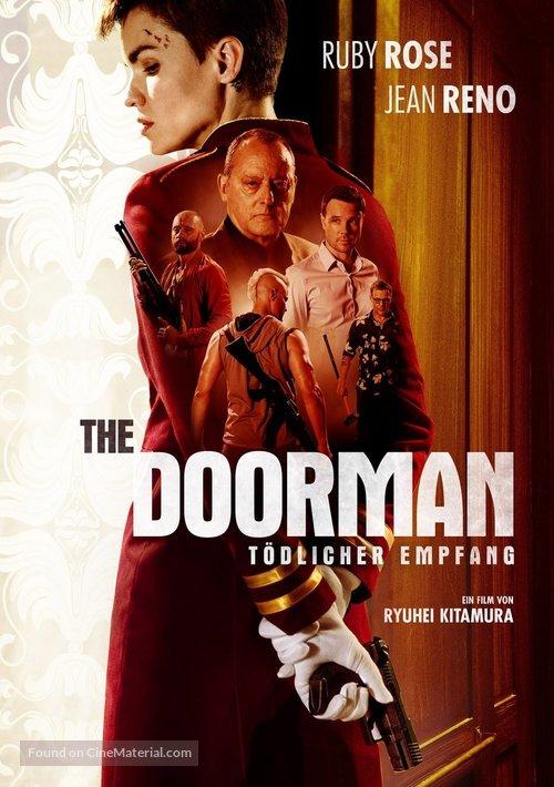 The Doorman (2020) German video on demand movie cover
