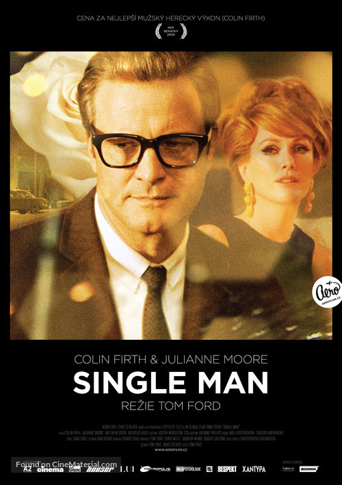 A Single Man - Czech Movie Poster