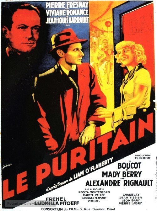 Le puritain - French Movie Poster