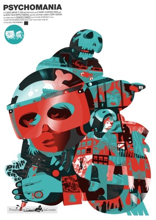 Psychomania - Homage movie poster