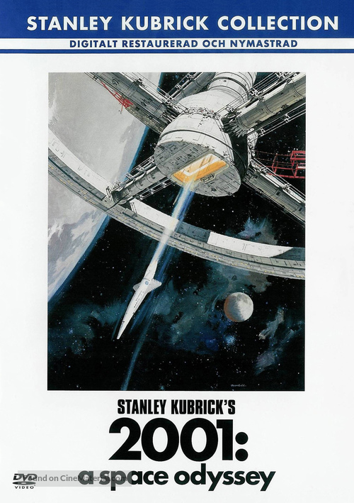 2001: A Space Odyssey - Swedish Movie Cover