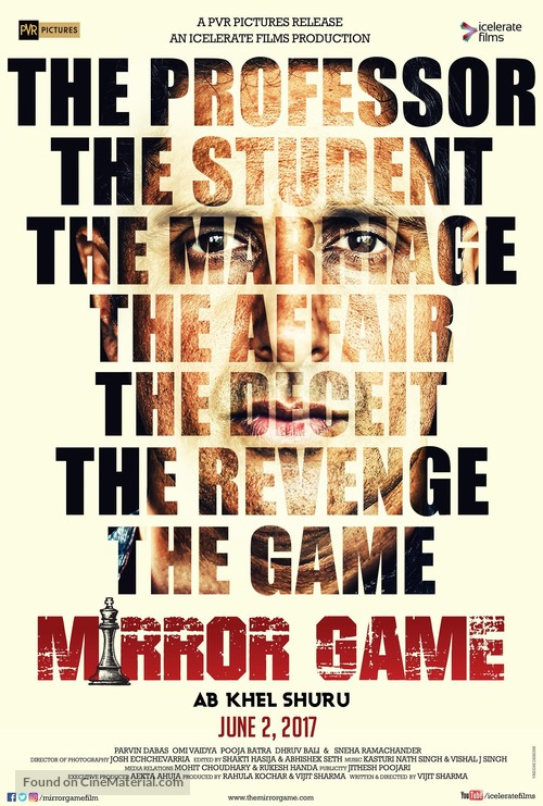Mirror Game - Indian Movie Poster