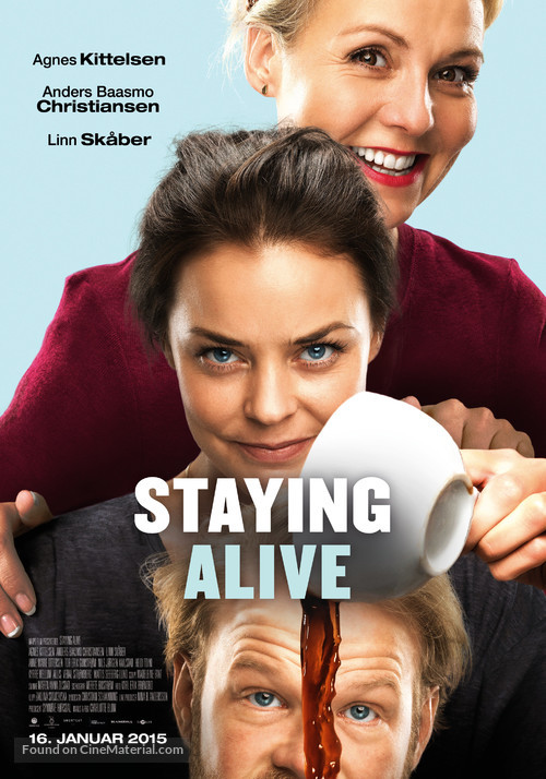 Staying Alive - Norwegian Movie Poster
