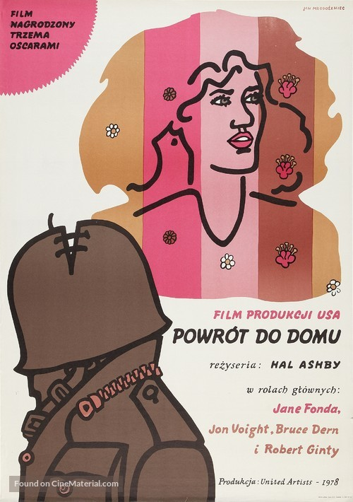 Coming Home - Polish Movie Poster
