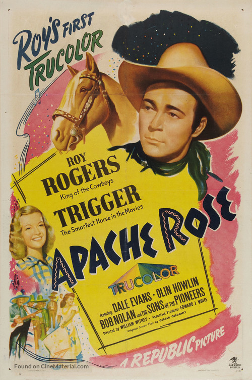 Apache Rose - Movie Poster