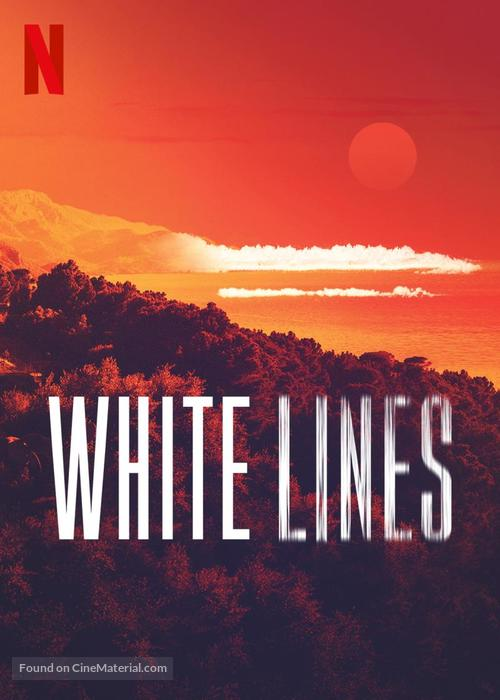 """""""White Lines"""" - British Video on demand movie cover"""
