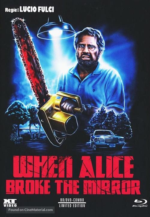 Quando Alice ruppe lo specchio - Austrian Blu-Ray movie cover