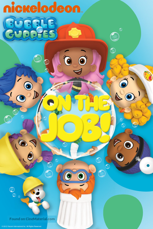 """""""Bubble Guppies"""" - DVD movie cover"""