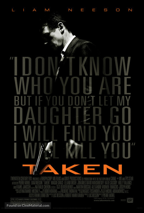 Taken - Movie Poster