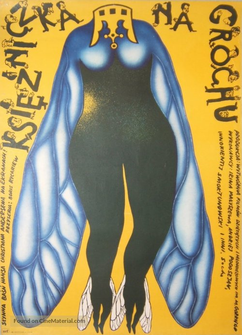 Printsessa na goroshine - Polish Movie Poster