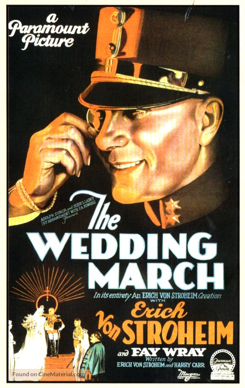 The Wedding March - Movie Poster