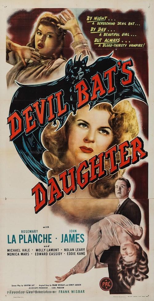 Devil Bat's Daughter - Movie Poster
