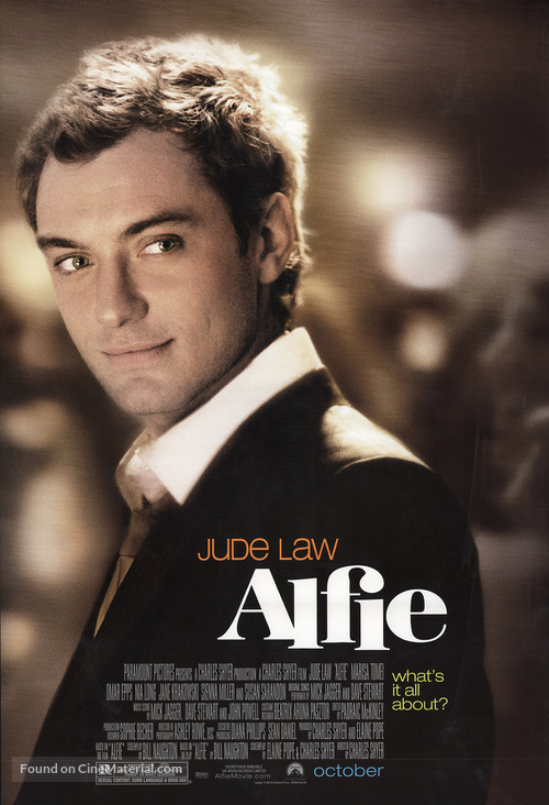 Alfie - Movie Poster