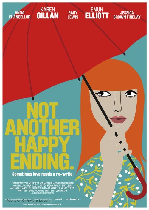 Not Another Happy Ending - British Movie Poster