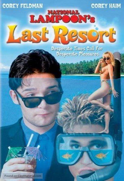 Last Resort - DVD movie cover
