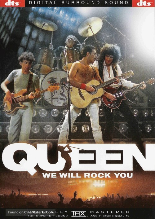 We Will Rock You: Queen Live in Concert - DVD movie cover