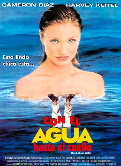 Head Above Water - Mexican Movie Poster