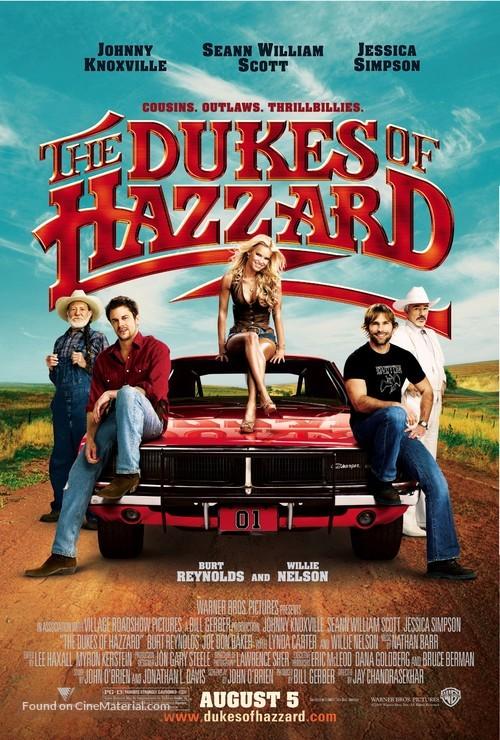 The Dukes of Hazzard - Advance movie poster
