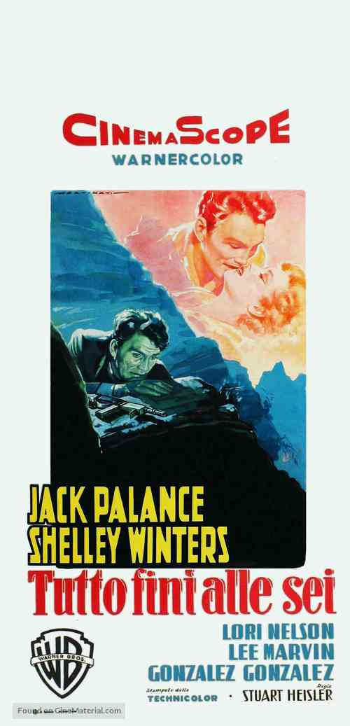 I Died a Thousand Times - Italian Movie Poster