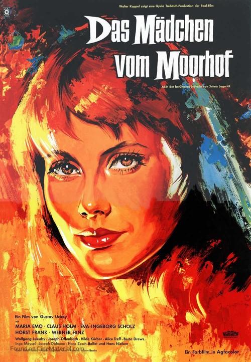 Mädchen vom Moorhof, Das - German Movie Poster
