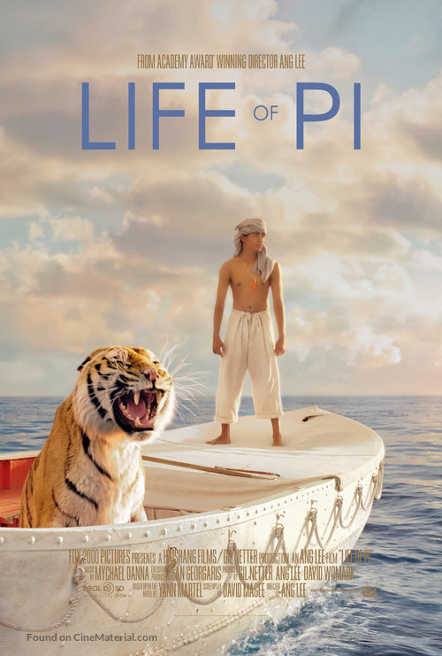 Life of Pi - Movie Poster