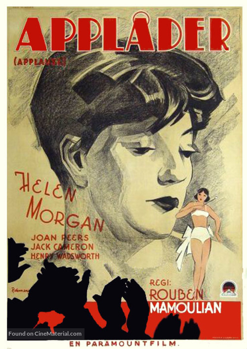 Applause - Swedish Movie Poster
