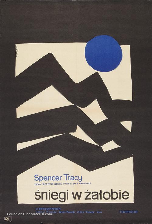 The Mountain - Polish Movie Poster