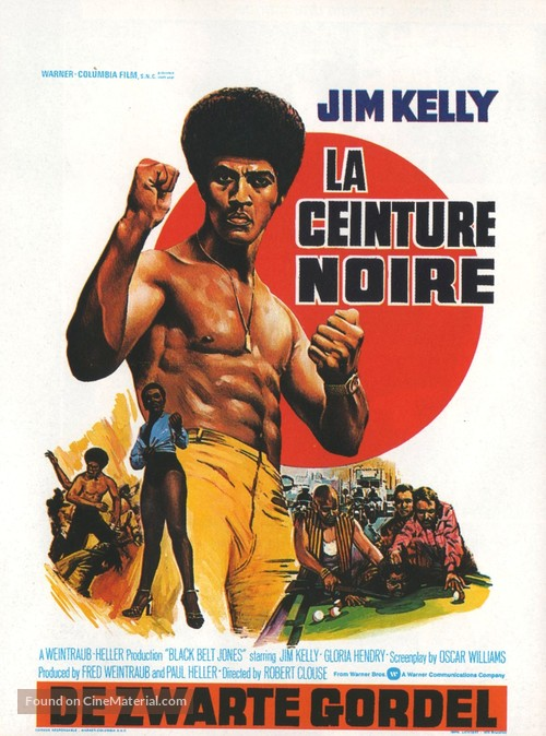 Black Belt Jones - Belgian Movie Poster
