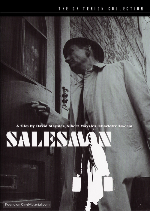 Salesman - DVD movie cover