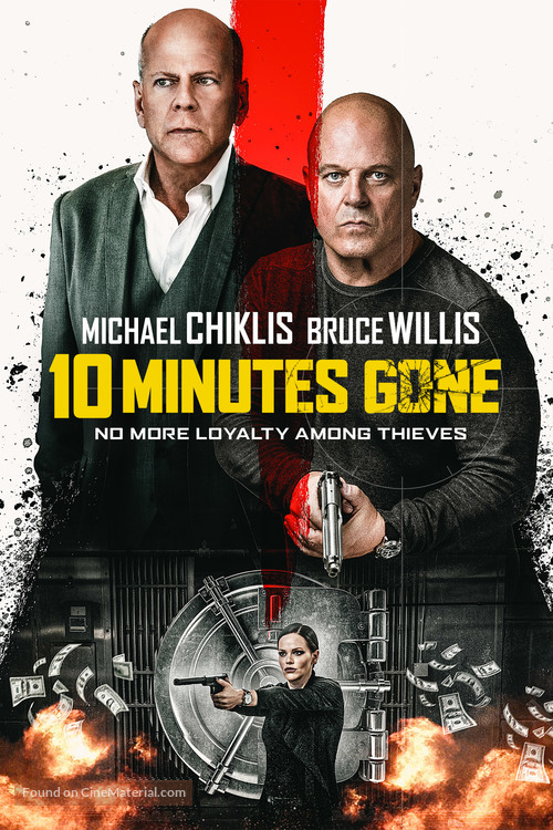 10 Minutes Gone - Danish Movie Cover