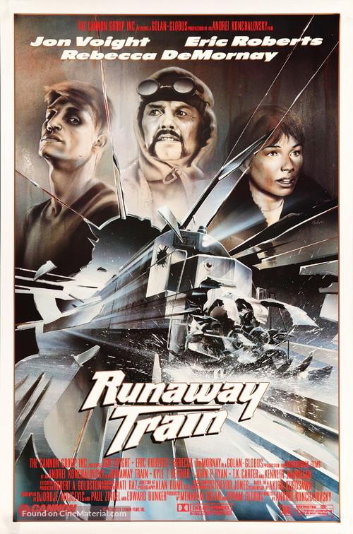 Runaway Train - Movie Poster