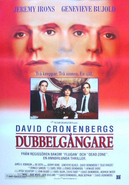 Dead Ringers - Swedish Movie Poster