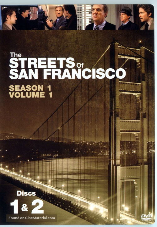 """""""The Streets of San Francisco"""" - Movie Cover"""