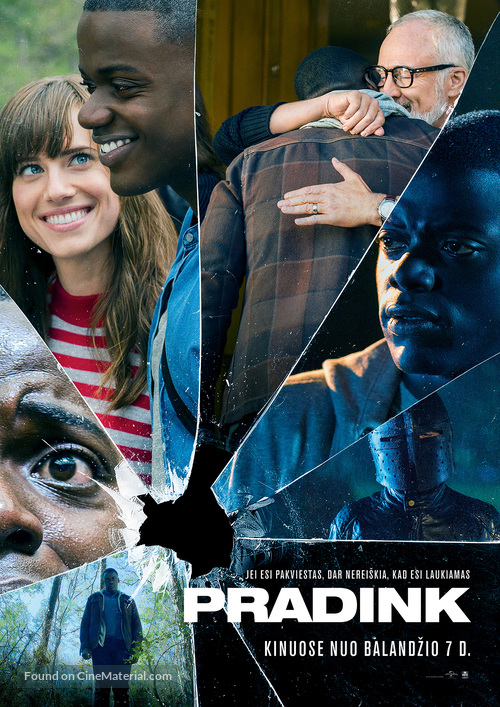 Get Out - Lithuanian Movie Poster