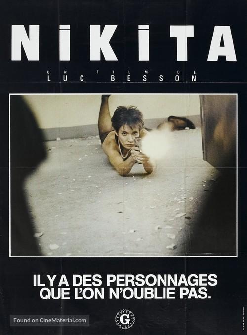 Nikita - French Movie Poster