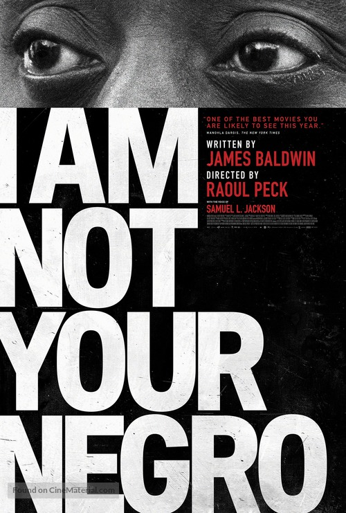 I Am Not Your Negro - Movie Poster