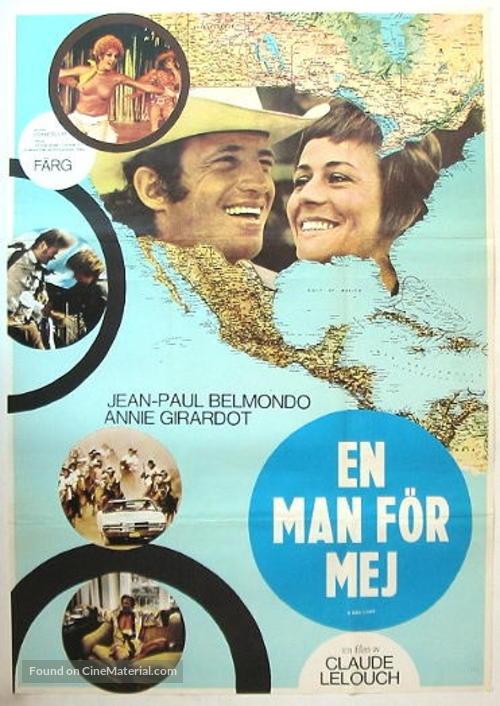 Un homme qui me plaît - Swedish Movie Poster