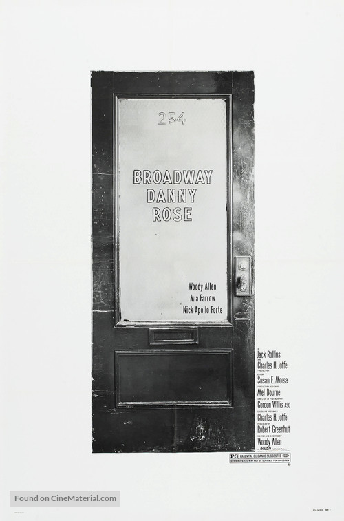 Broadway Danny Rose - Theatrical movie poster