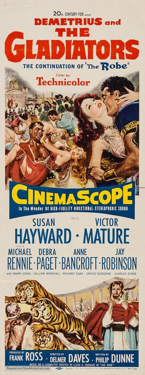 Demetrius and the Gladiators - Movie Poster