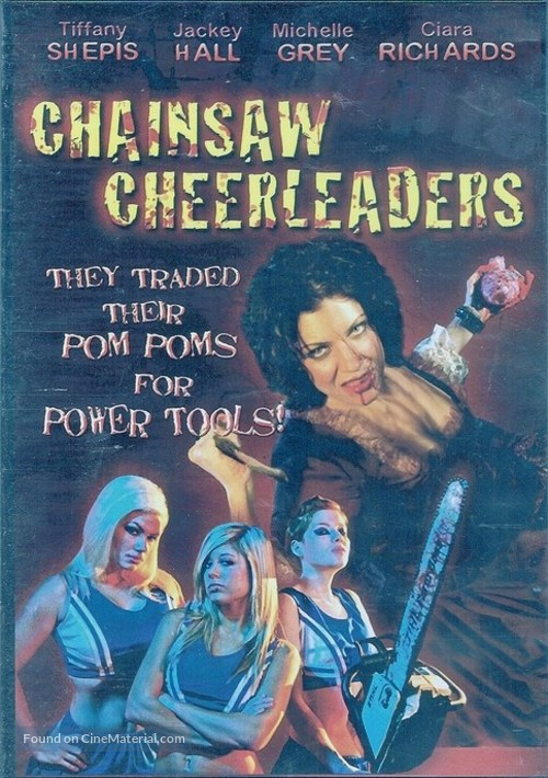 Chainsaw Cheerleaders - DVD movie cover