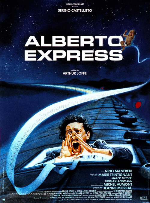 Alberto Express - French Movie Poster