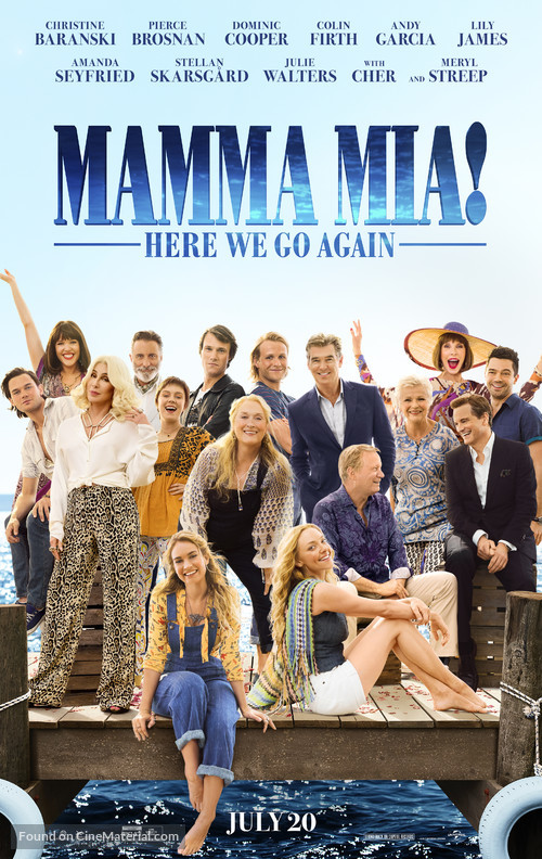 Mamma Mia! Here We Go Again - Movie Poster