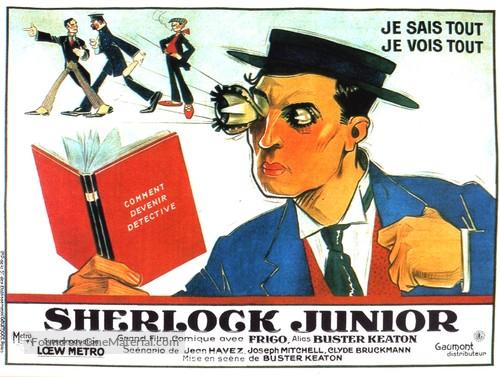 Sherlock Jr Movie Poster////Movie Poster////Poster Reprint Poster////Sherlock Jr